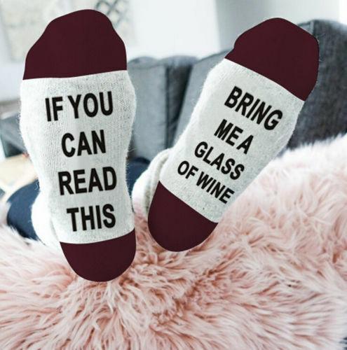 1 Pair Unisex Socks IF YOU CAN READ THIS Socks Women Funny Low Cut Ankle Sock Casual Socks Xmas Socks