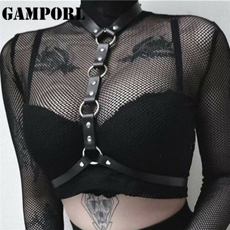 GAMPORL Sex Shop Belts for Women Leather Garters Bondage Set Erotic Wives Gothic Clothes Poppit Game Accessories The Exotic