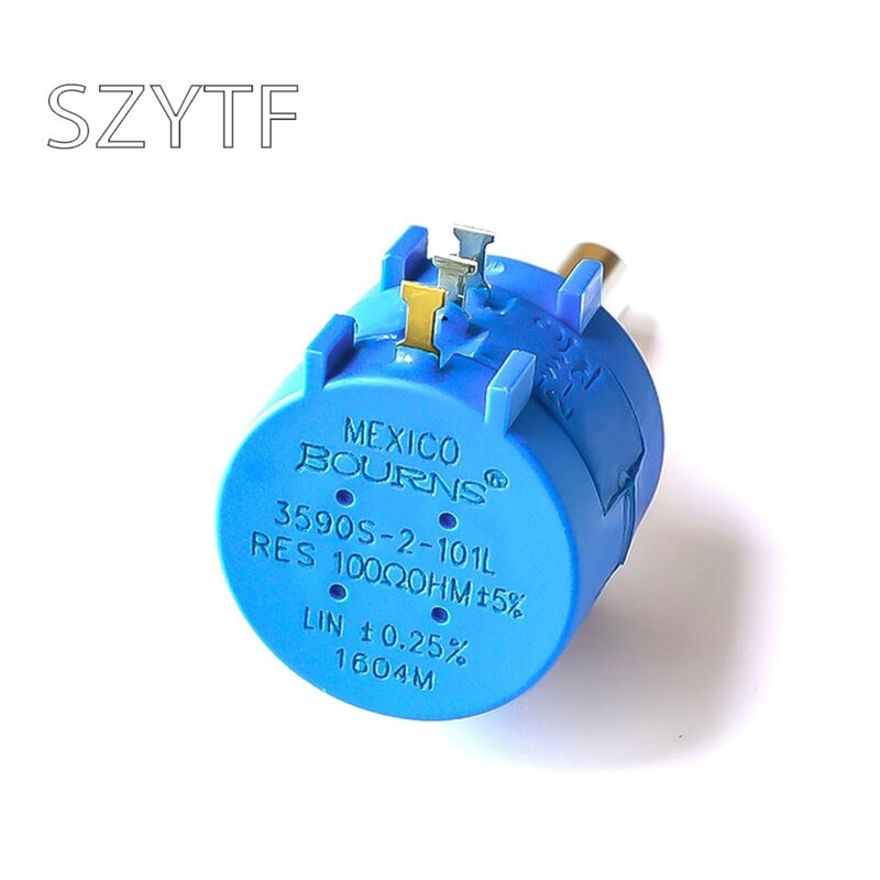1 Uds 3590s-2-103l 1K 2K 5K 10k 20K 50K 100K 100R 200R 500R potenciómetro de precisión calidad ajustable resistencia