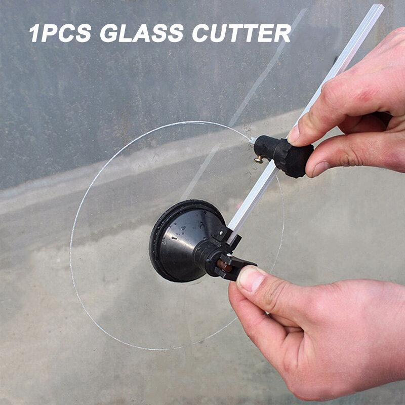 Glas Schneiden Werkzeuge Rad Kompasse Glas Kreis Schneider Mit Saugnapf Kreis Bau Werkzeuge Cortador De Vidrio Стеклорез