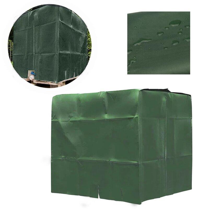 IBC 녹색 물 탱크 커버 톤 배럴 액세서리 1000 리터 컨테이너 알루미늄 호일 방수 방진 UV 보호 커버
