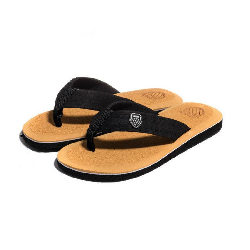 Sandales de plage antidérapantes, nouvelle collection été 2020, haute qualité, pantoufles chaussons pour hommes, vente en gros, chaussures décontractées