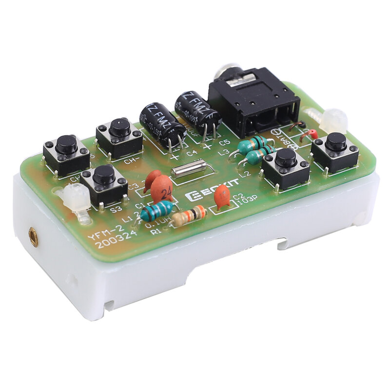 88-108MHz لتقوم بها بنفسك عدة FM ناقل موجات الراديو و وحدة الاستقبال تردد تعديل ستيريو تلقي PCB لوحة دوائر كهربائية