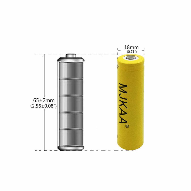 Neue Stil GQYM 4 stücke 18650 3200mAh 3,7 v Akku Hohe kapazität li ionen Batterien für Led Taschenlampe