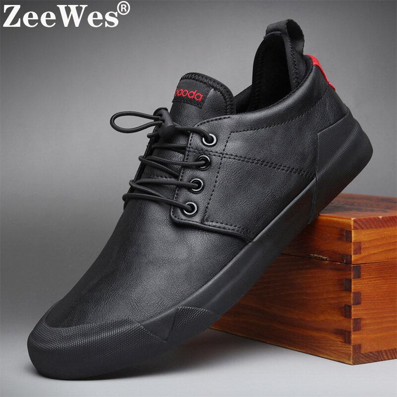 2021 printemps Automne Nouvelle Mode Chaude Hommes À Lacets En Cuir Chaussures Décontractées Tendance Chaussure Cool Mocassins Chaussures Hommes De Haute Qualité