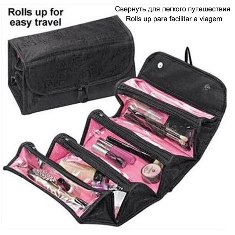 Necesser 미용사 여행 허영 필수품 여성 미용 세면 용품 키트 메이크업 화장품 가방 주최자 케이스 파우치 지갑