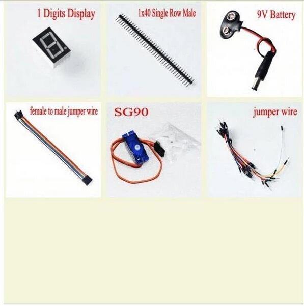 أجهزة RFID الحديثة, أجهزة بدء جهاز Arduino إونو 3 ، الإصدار المستحدث ، بعلبة إمدادات