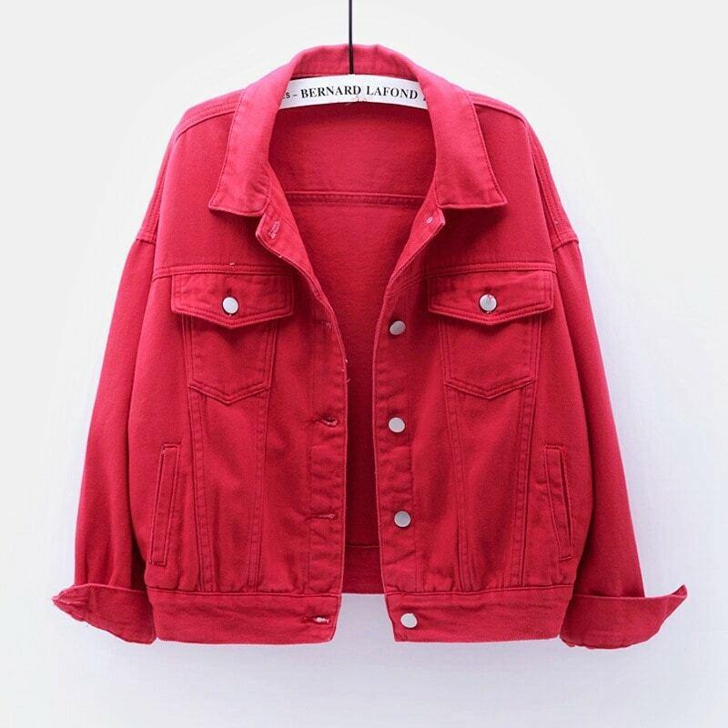 Denim Jackets for women 2021 Jeans jacket women veste jeans femme chaquetas para mujer cazadora vaquera mujer