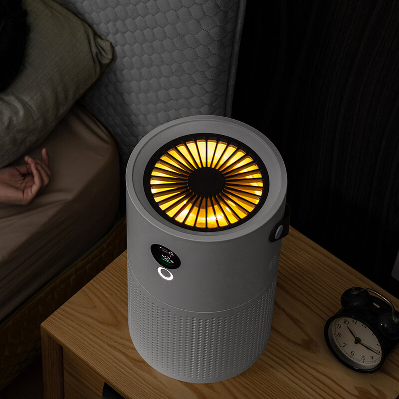 purificatore aria Purificatore d'aria per la casa filtro xiaomi mi air purifier 3 h Hepa ionizzatore portatile generatore di ioni negativi ossigeno macchina purificatore deodorante detergente