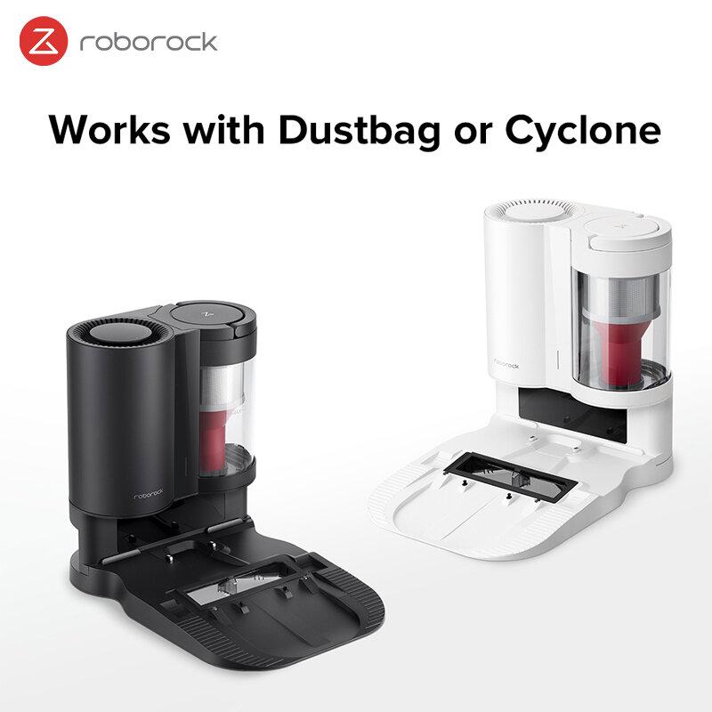 Roboroc0k stazione di raccolta e ricarica automatica della polvere EU Dock auto-vuota-adattatore S7 raccolta polvere ciclone nero