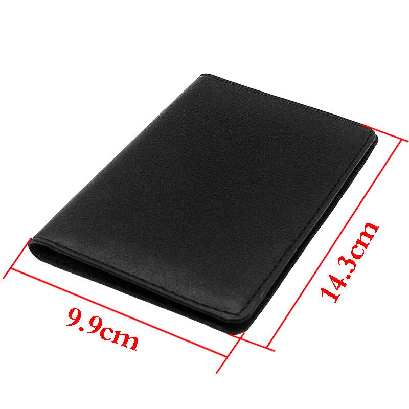 고전적인 유행은 여기 높은 품질의 가죽 여권 케이스를 인쇄했습니다.