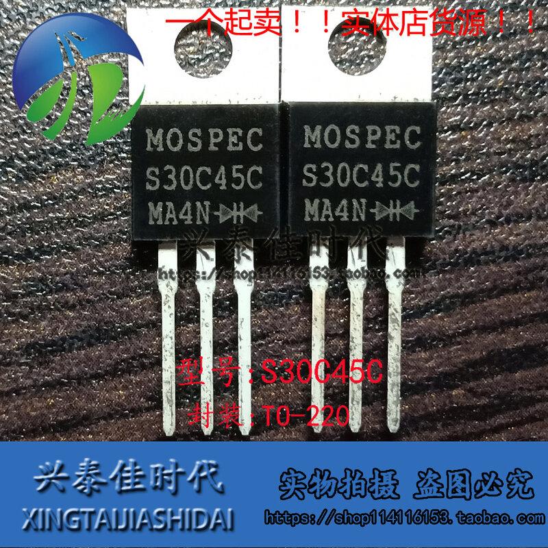 الأصلي جديد 5 قطعة/S30C45C 30A/45V إلى-220