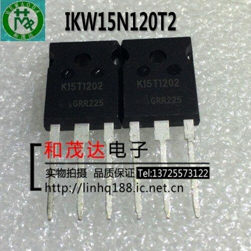 الأصلي جديد 5 قطعة/IKW15N120T2 K15T1202 1200V 15A TO247 إلى-247