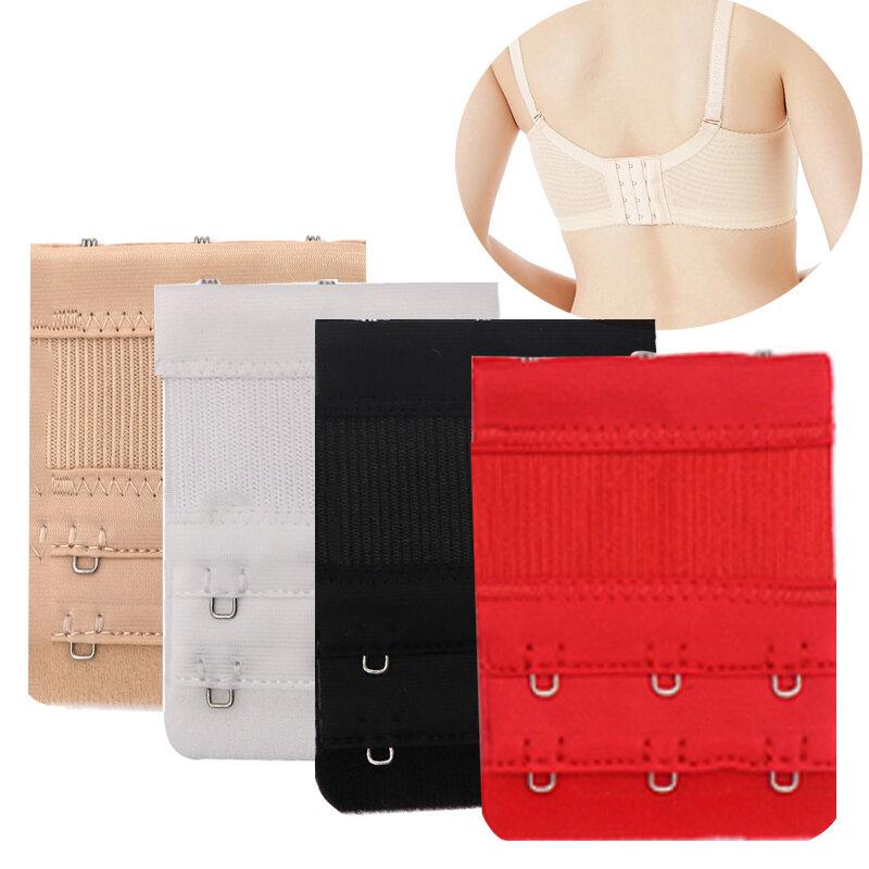 3/4/6/8Pcs Bra Extension Strap Extender สำหรับผู้หญิงปรับเข็มขัดไนลอนยืดหยุ่น Bra สายรัดตะขอคลิป Expander