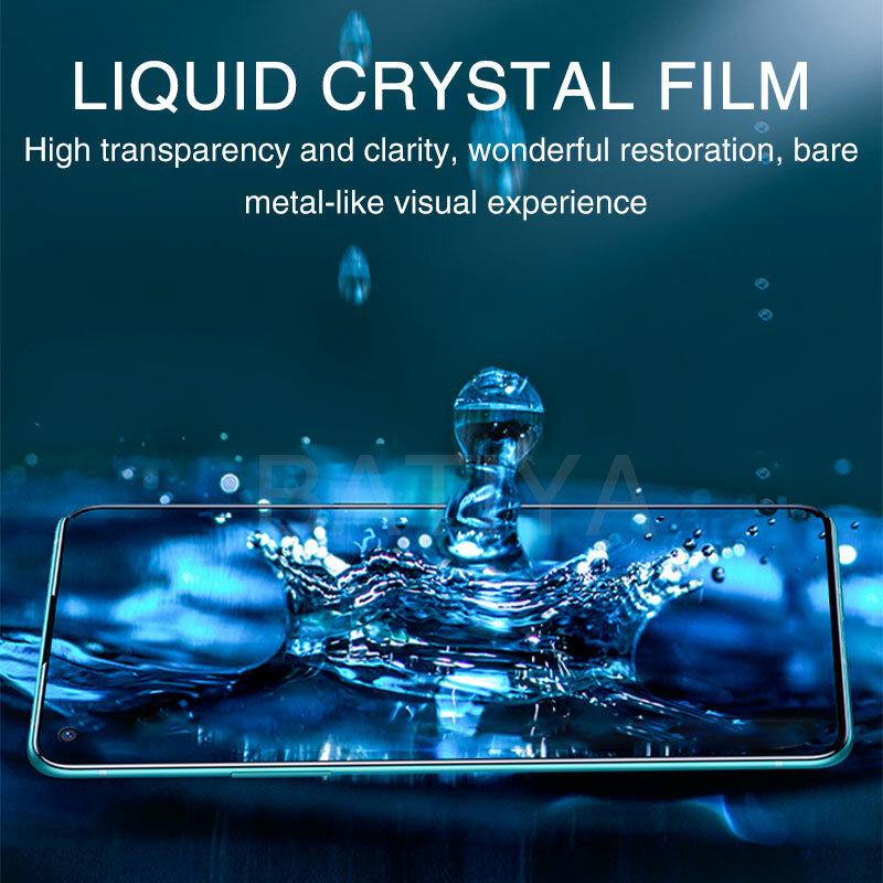 Hydrogel Film auf die Screen Protector Für OnePLus 7T 6T 5T 8T Pro Volle Abdeckung Weichen screen Protector Für OnePLus 7 6 5 8 Lite Nord