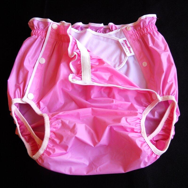 شحن مجاني FuuBuu2219-Pink-XL-1PCS للماء السراويل/الكبار حفاضات/سلس البول السراويل/حفاضات جيب