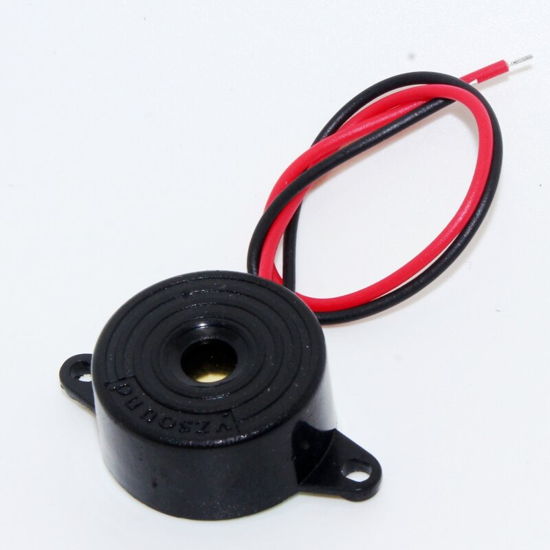 Zumbador electrónico piezoeléctrico de 3-24V, alarma de sonido continuo 95DB para furgoneta y coche Arduino, novedad, gran oferta