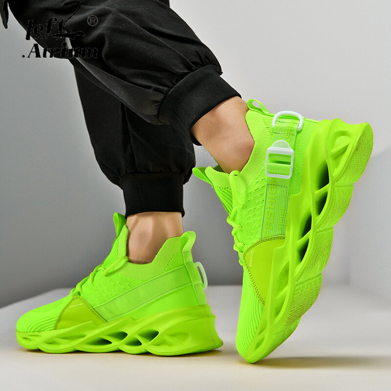 Men's Running Shoes Casual Sports Shoes Unisex Breathable Mesh Lightweight Sports Shoes Large Size 36-46 Women's Shoes