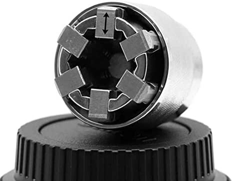 10-19mm Einstellbare Hex Universelle Buchse Drehmoment Ratsche Adapter Wrench Leiter Spanner Hülse Reparatur Werkzeuge