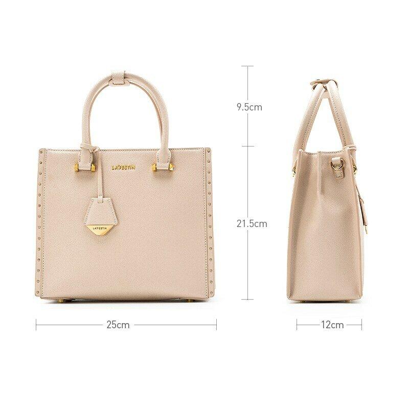 LA FESTIN Designer 2021 NewTrendy Bags Women Bags Shoulder Large-capacity Messenger Bag Tassel Leather Female  Bag
