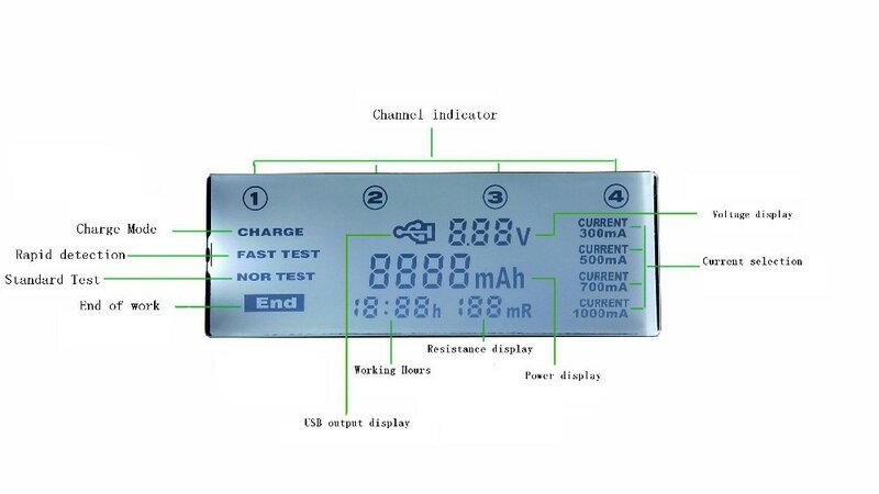 ใหม่Liitokala Lii500 LCD Chargerสำหรับ3.7V 18650 26650 18500รูปทรงกระบอกแบตเตอรี่ลิเธียม,1.2V AA AAA NiMHแบตเตอรี่Charger