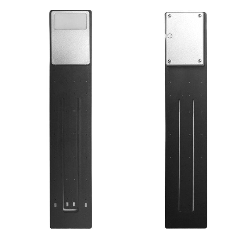 휴대용 LED 독서 책 조명 분리형 유연한 클립 USB 충전식 램프 킨들 전자 책 리더기