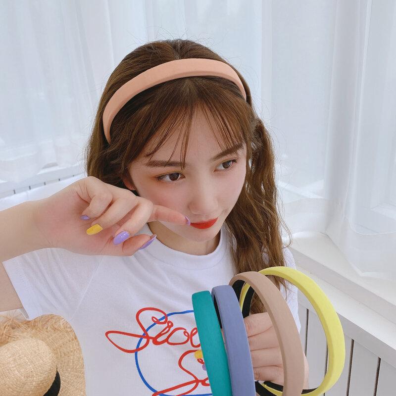 Internet Celebrity Mori Fairy Style Headband Female Candy Color Hair Fixer Super Fairy Headband Hair Tie Girl Versatile out
