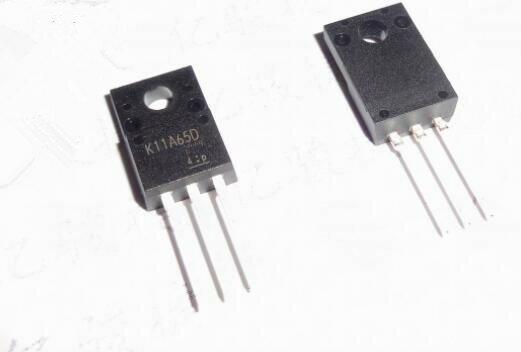 50 قطعة/الوحدة TK11A65D TK11A65 K11A65D TO-220F IC أفضل جودة.