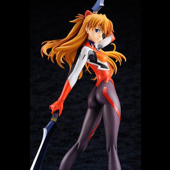 Figura de acción de Anime de EVA, Asuka, Langley, Soryu, traje de conductor, modelo de PVC de 23cm, figura coleccionable, estatua de decoración, modelo regalo