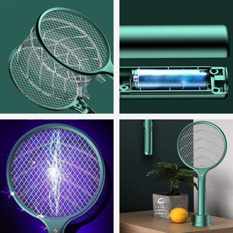 LED 효율적으로 모기 킬러 램프 전기 버그 재빠른 USB 충전식 여름 비행 찰싹 때리는 함정 파리 곤충 안티 모기 모기퇴치기