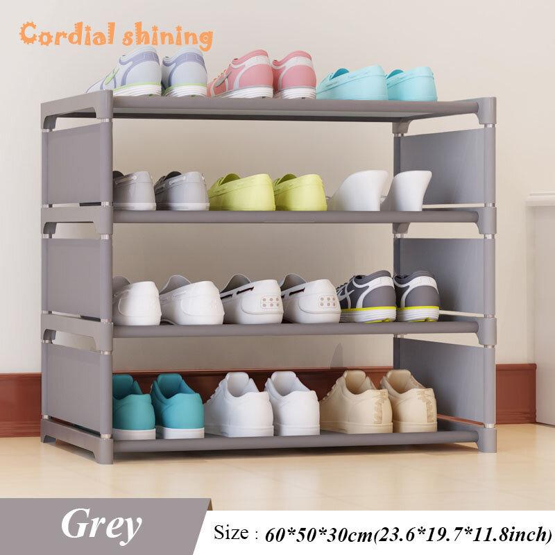 Cordial Shining – étagère à chaussures à quatre étages, nouvelle collection, arc de réception de chaussures de 50 Cm de haut, dortoir pour hommes et femmes, étagère à chaussures