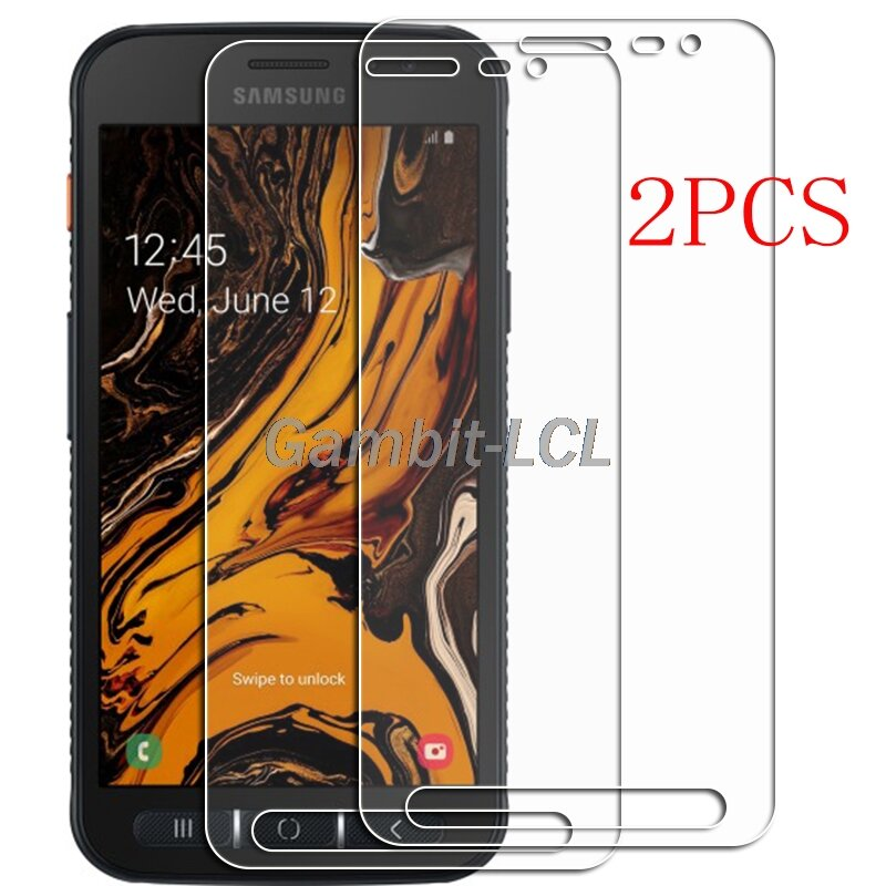 For Samsung Galaxy Xcover 4 4S Tempered Glass Protective ON SM-G398F G398FN/DS G390F  5INCH Screen Protector Phone Cover  Film