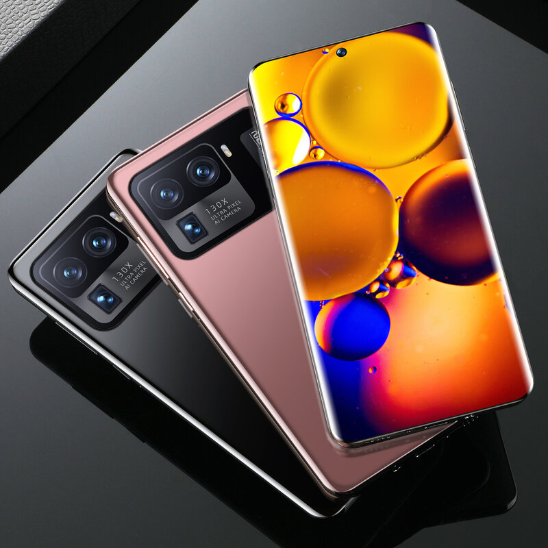 Xiao M11 Ultra Qualcomm Snapdragon 888 16GB+1T Deca Core 4G LTE 5G Camera 48MP+64MP 6800mah Android11 7.3Inch Global Phone
