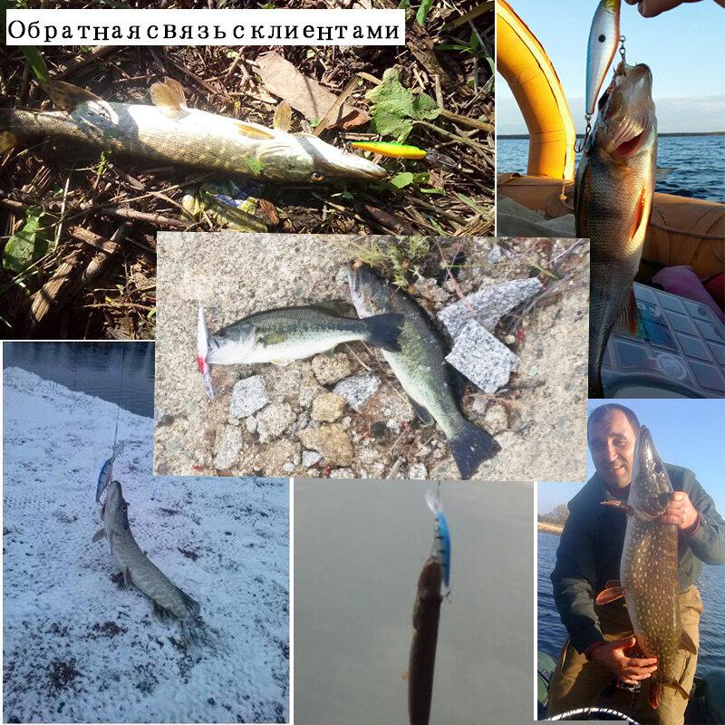 2 stücke Qualität 11cm 10,5g Harten Köder Minnow Fishing lockt Bass Frische salzwasser Angeln locken 6 # haken Pesca Künstliche Köder Spinner