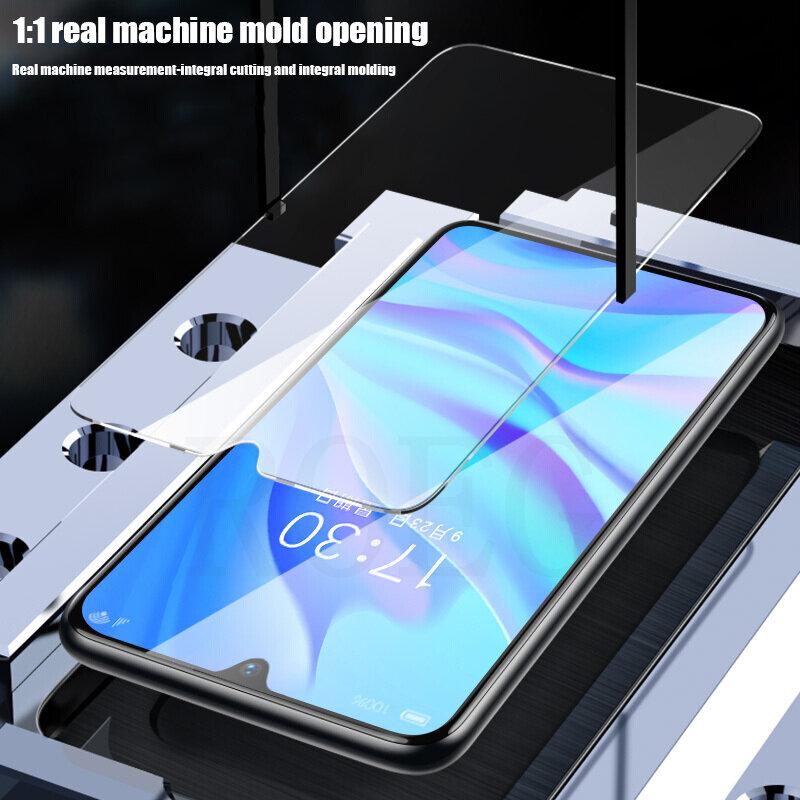 Protector de pantalla de vidrio templado para móvil, cubierta completa para Huawei P30, P40 Lite, P20 Pro, Mate 20, 30 Lite, P, 4 Uds.
