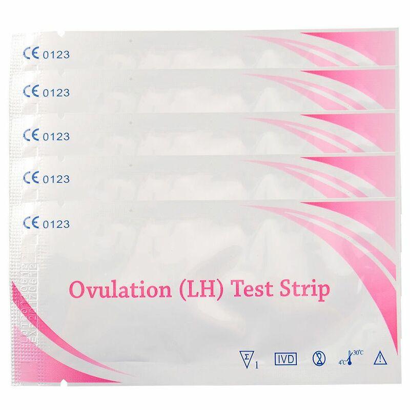 5 stücke Lh Teststreifen Erste Antwort Über 99% Genauigkeit Lh Ovulation Teststreifen Test Eisprung Urin Dropshipping