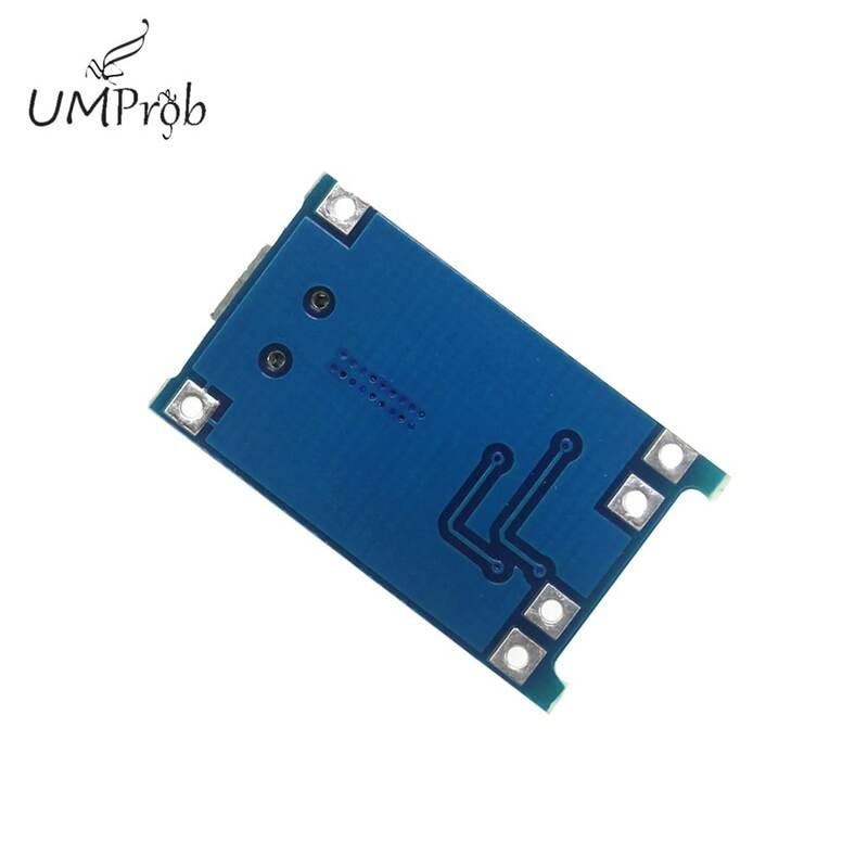 5 v 1a 마이크로 usb 18650 리튬 배터리 충전 보드 충전기 모듈 + 보호 이중 기능 tp4056