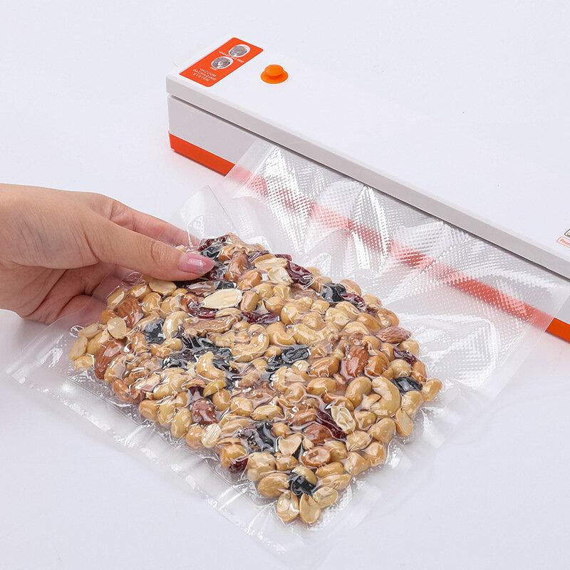 Küche Lebensmittel Vakuum Tasche Lagerung Taschen Für Vakuum Versiegelung Lebensmittel Frische Lange Halten 12 + 15 + 20 + 25 + 28cm * 500cm 5 Rollen