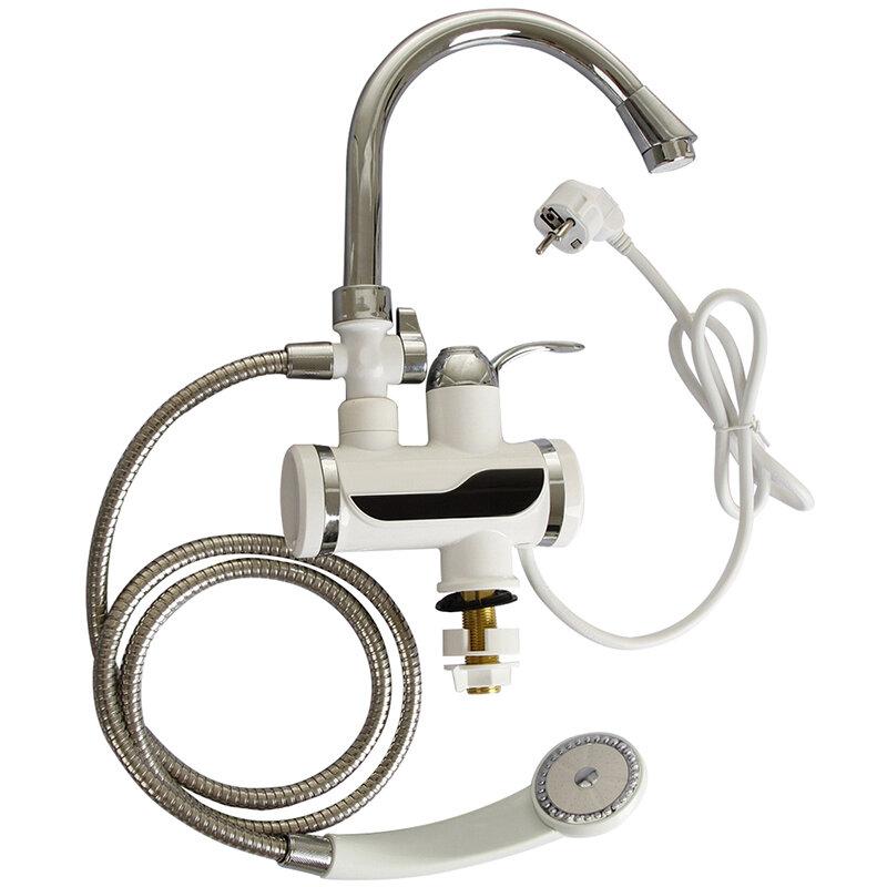 KBAYBO 3000W Tankless سخان المياه دش الفورية المياه سخان المياه صنبور المطبخ الفورية صنبور 2 أنواع من خارج وضع