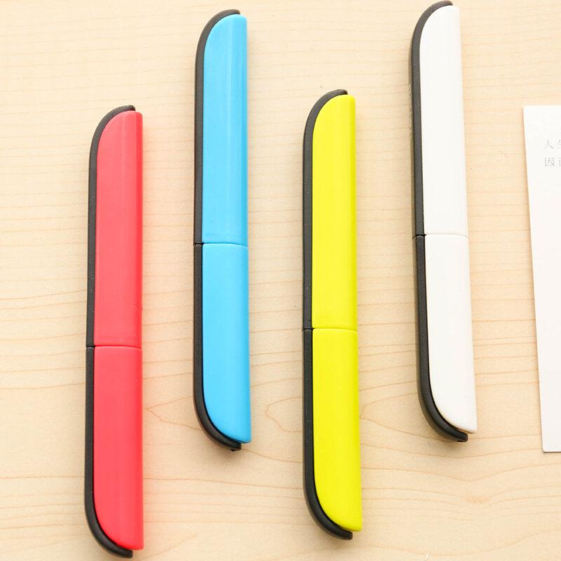 1 pz carino Kawaii Scrapbook carta utilità di sicurezza per adulti studente per bambini portatile piccola Mini tasca forbici taglierina cancelleria