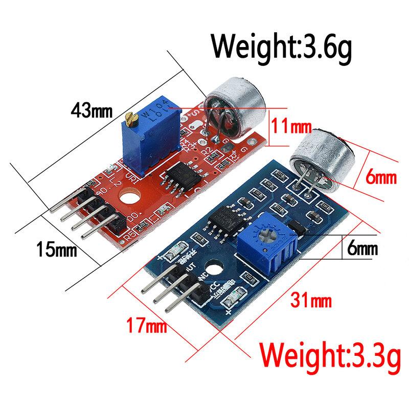 وحدة مستشعر الصوت MAX4466 max9814 ، max9814 ، كشف الصافرة ، مكبر صوت ميكروفون لـ Arduino