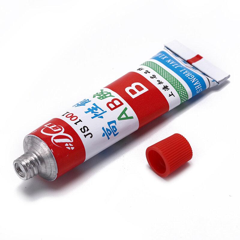 20g Super AB Kleber Starke Cyanacrylat Flüssigkeit Epoxy Harz Leder Gummi Epoxy Klebstoff Metall Glas Holz Schreibwaren Speicher Kit
