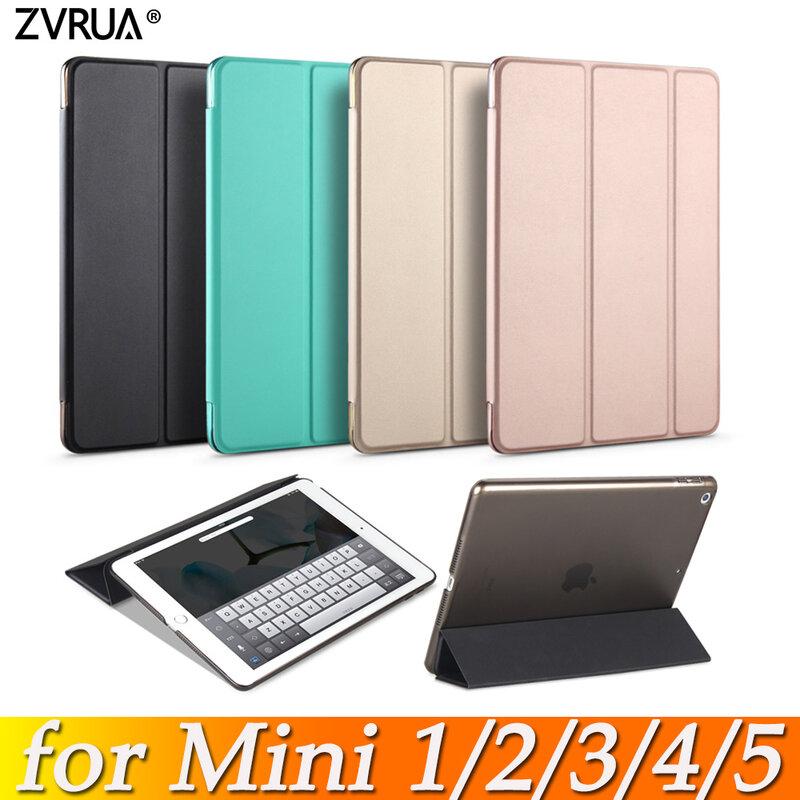 กรณีสำหรับIpad Mini 5 4 3 2 1 Slim PUหนังTrifold Stand Auto Sleep/Wake Upสมาร์ทสำหรับMini1 Mini2 Mini3 Mini4 Mini5 7.9