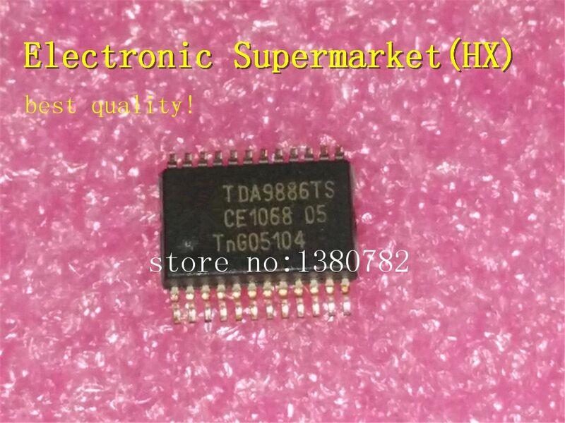 100% جديد الأصلي TDA9886TS/V4 TDA9886TS TDA9886 SSOP-4 IC في الاوراق المالية