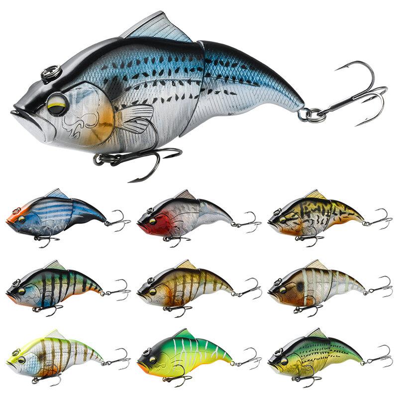 Vatalion ตกปลา Lure 115มม.ช้า/ลอย VIB Lipless เหยื่อ Hard เหยื่อ Crankbait เหยื่อตกปลา Wobblers