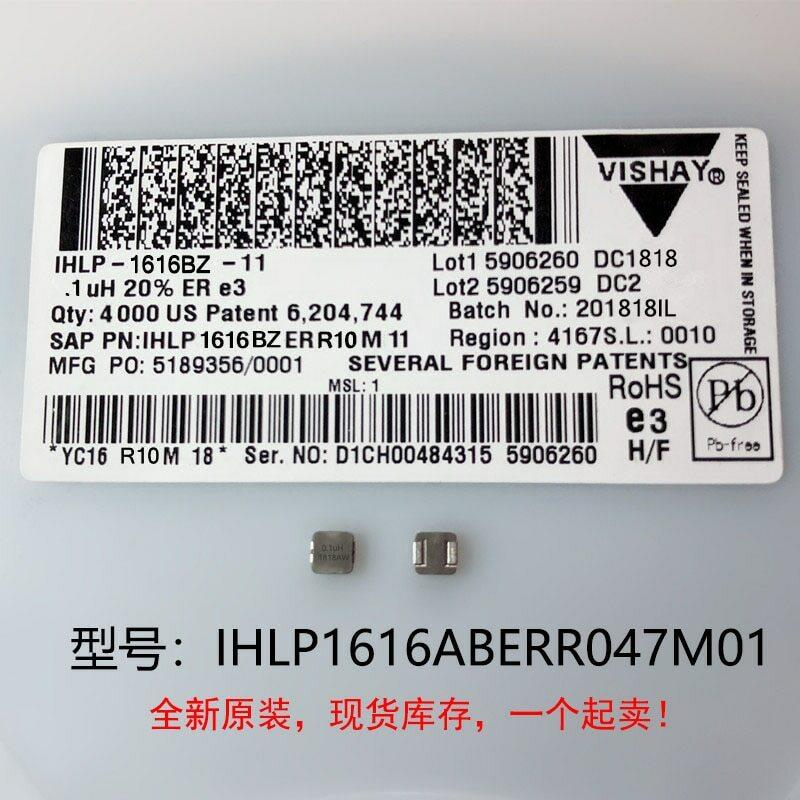 (10) inductores de corriente grandes integrados, calidad de 100%, IHLP1616Deviated 47M01 0.47UH