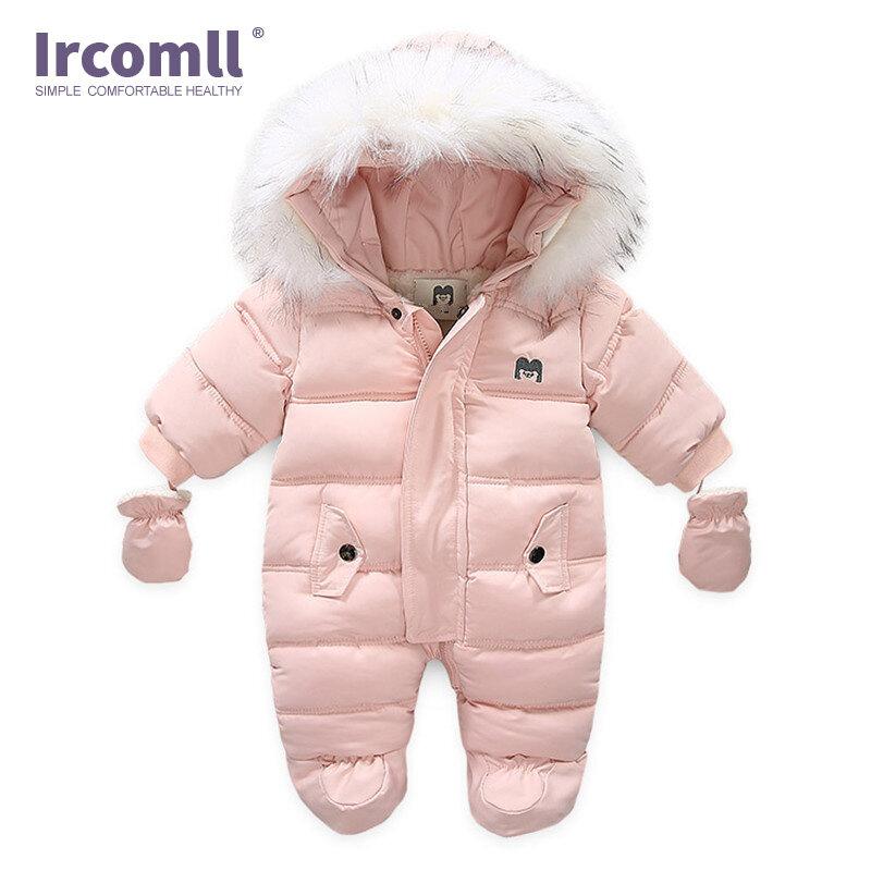 Ircomll Ropa De Invierno Para Bebé Recién Nacido Mono Con Capucha Ropa Interior De Lana Para Niña Monos De Otoño Bestdealplus