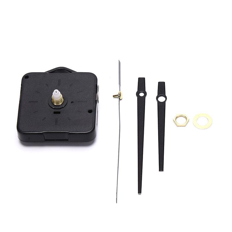 ساعة حائط كوارتز صامتة ، آلية حركة ساعة الحائط ، طقم إصلاح يدوي فضي ، مجموعة ملحقات بديلة