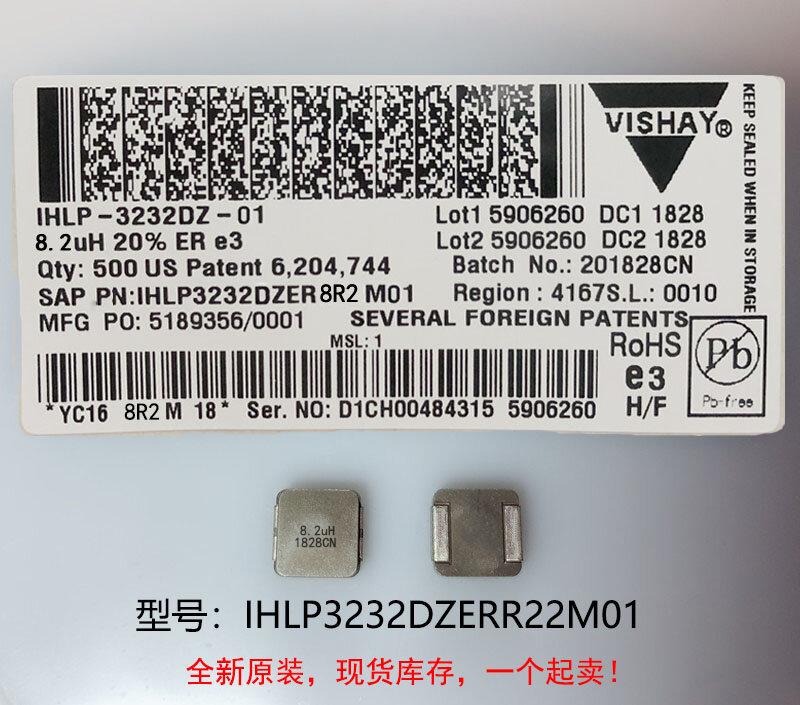 (10) 새로운 원본 100% 품질 IHLP3232DZERR22M01 0.22UH 8X8X4MM 통합 고전류 인덕터