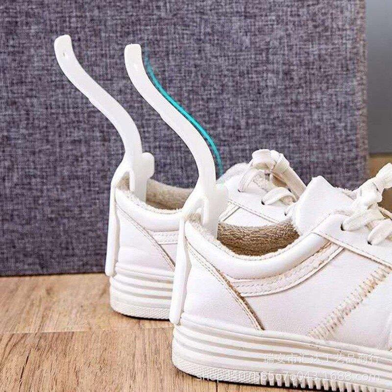 구두 뒤꿈치 기중 장치 가제트 휴대용 게으른 작은 구h 주걱 도구 2021 새로운 창의력 신발 도구를 착용하기 쉬운